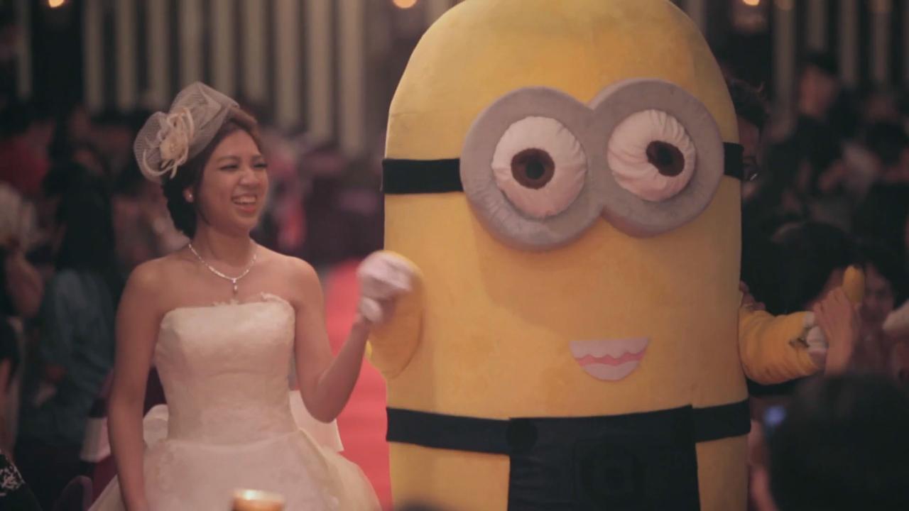 婚禮攝影,錄影,快剪快播,Wedding SDE,台北世貿三三