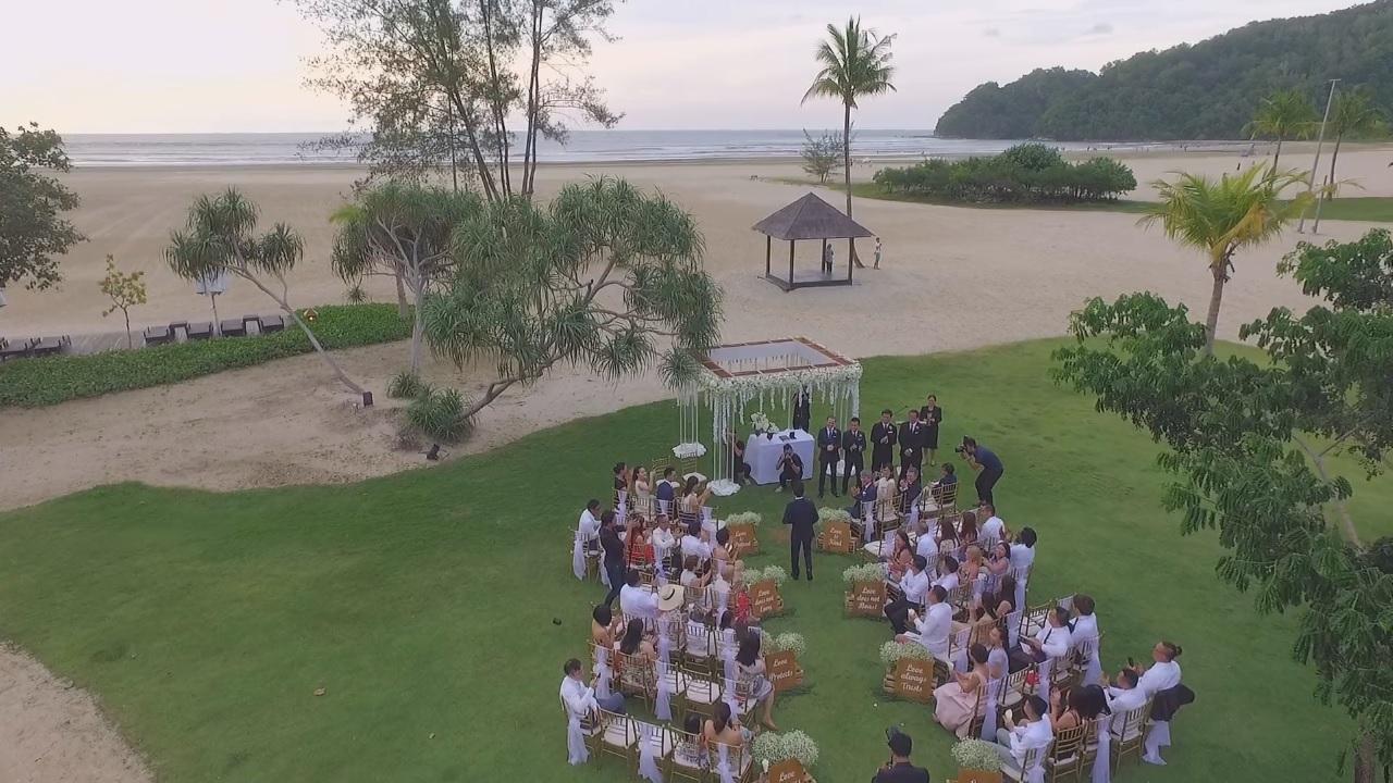 婚禮攝影,錄影,快剪快播, Sabah Shangri-la Rasa Ria Resort